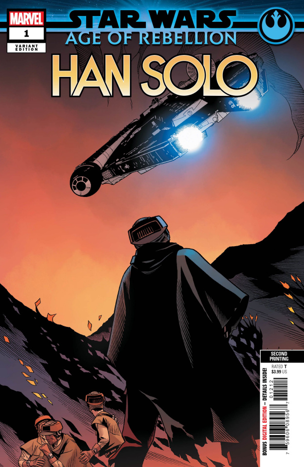 Star Wars: Age of Rebellion - Han Solo #1 (2nd Printing)