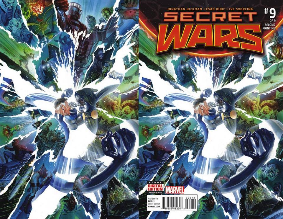 Secret Wars #9 (Alex Ross 2nd Printing)