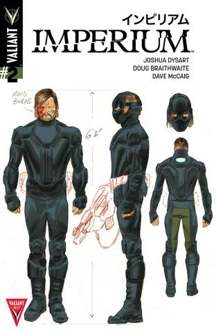 Imperium #2 (20 Copy Character Design Braithwaite Cover)