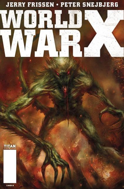 World War X #5 (Percival Cover)
