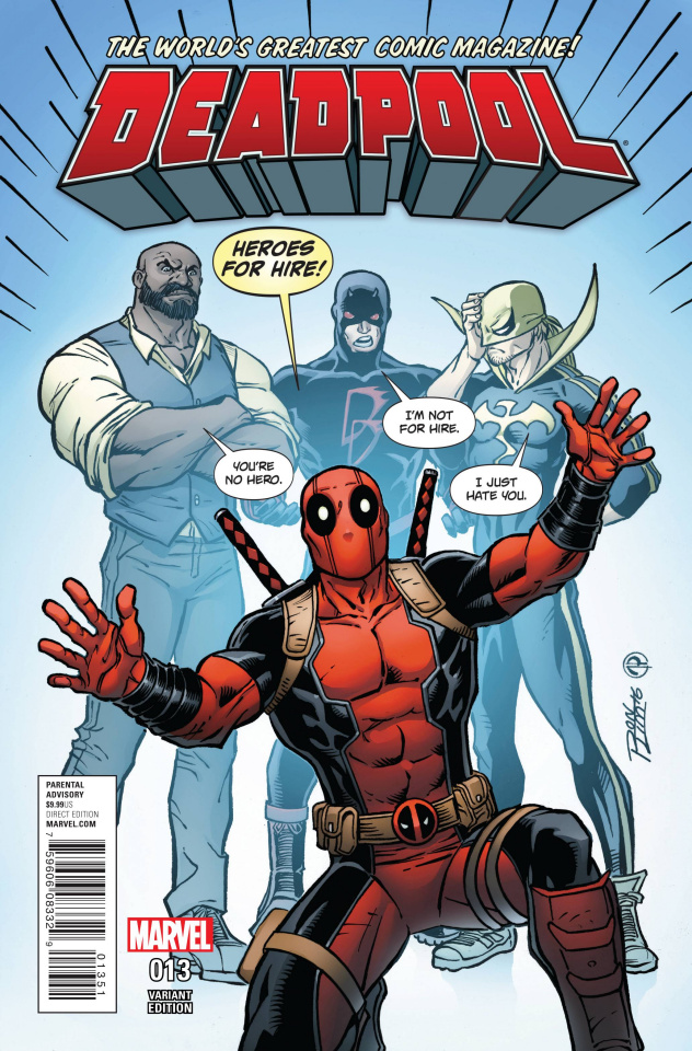 Deadpool #13 (Lim Cover)
