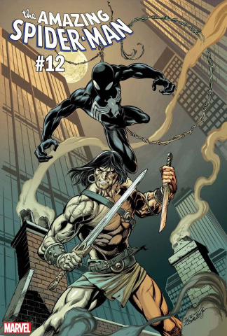 The Amazing Spider-Man #12 (Bagley Conan vs. Marvel Cover)