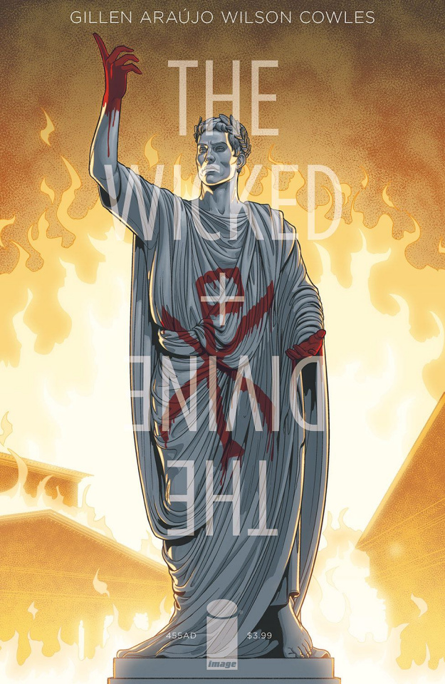 The Wicked + The Divine: 455 AD #1 (McKelvie & Wilson Cover)