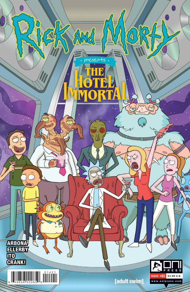 Rick and Morty Presents The Hotel Immortal #1 (Murphy Cover)