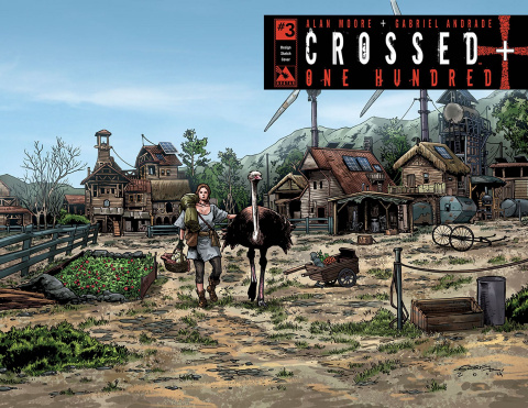 Crossed + One Hundred #3 (Design Sketch Cover)