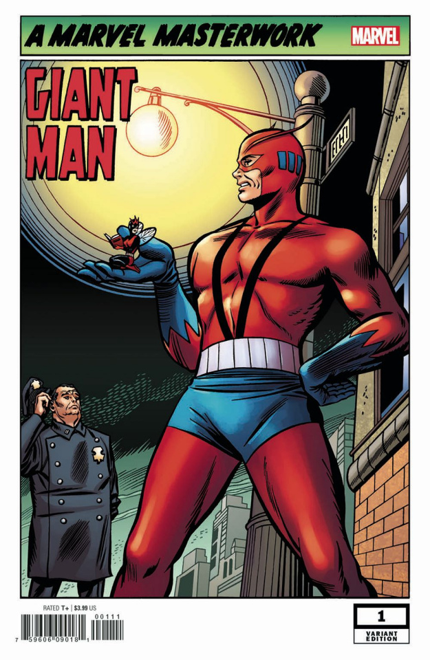Giant-Man #1 (Powell Remastered Cover)