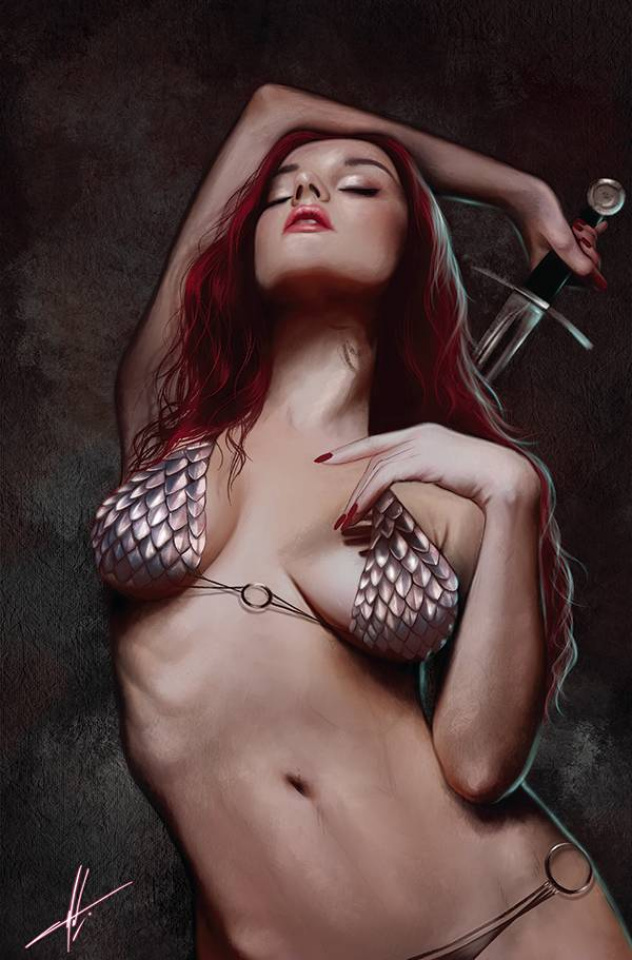 The Invincible Red Sonja #1 (30 Copy Cohen Virgin Cover)