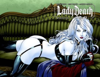 Lady Death #13 (Wrap Cover)