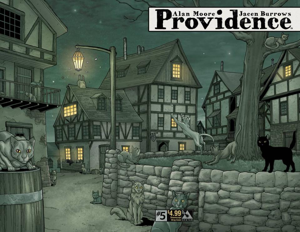 Providence #5 (Dreamscape Wrap Cover)