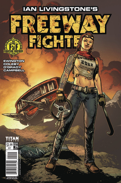 Freeway Fighter #4 (Bettin Cover)