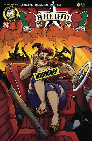 Black Betty #3 (Da Sacco Pin Up Risque Cover)