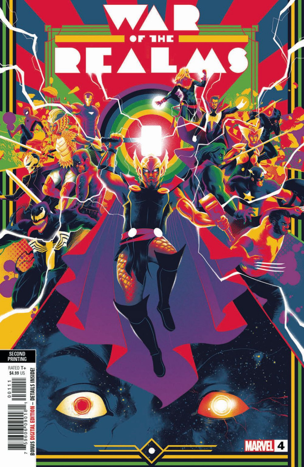 The War of the Realms #4 (Dauterman 2nd Printing)