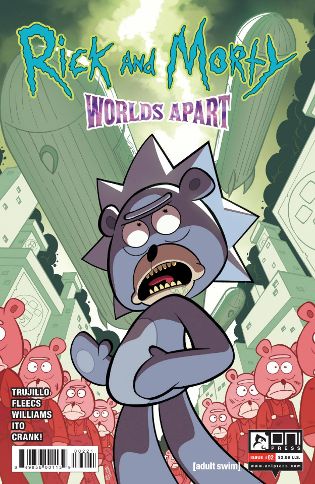 Rick and Morty: Worlds Apart #2 (Williams Cover)