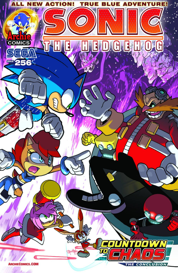 Sonic the Hedgehog #256