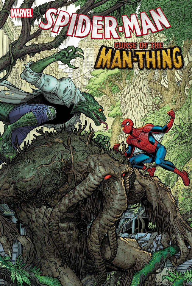 Spider-Man: Curse of the Man-Thing #1 (Bradshaw Cover)
