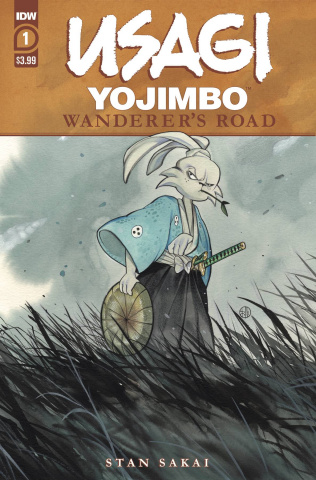 Usagi Yojimbo: Wanderer's Road #1 (Peach Momoko Cover)