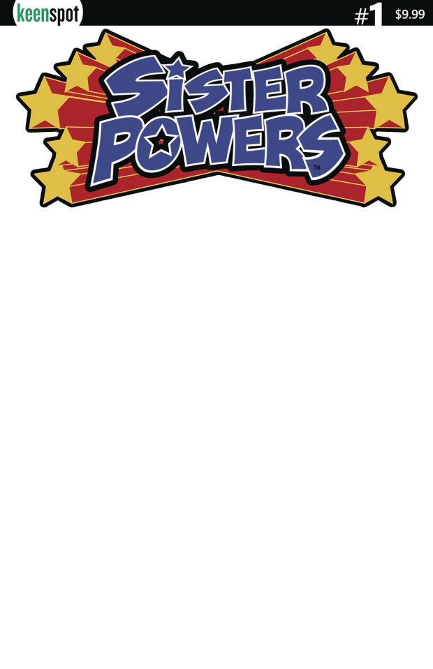 Sister Powers #1 (Blank Sketch Cover)
