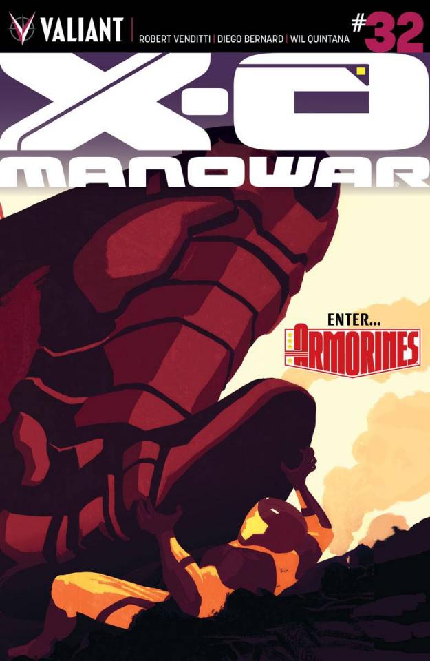 X-O Manowar #32 (Interlocking Allen Cover)