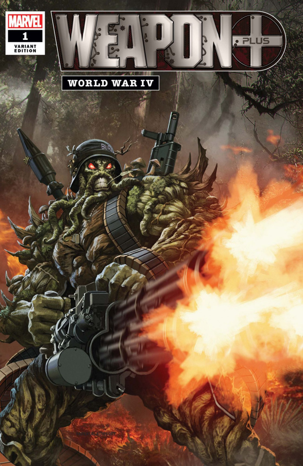 Weapon Plus: World War IV (Skan Cover)