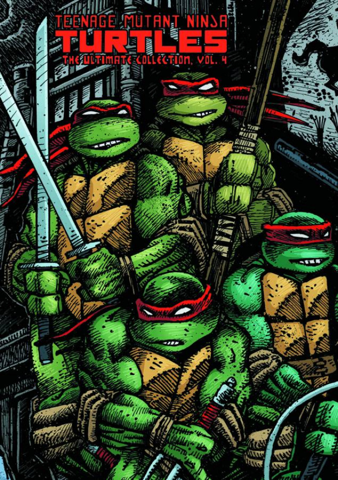 Teenage Mutant Ninja Turtles: The Ultimate Collection Vol. 4