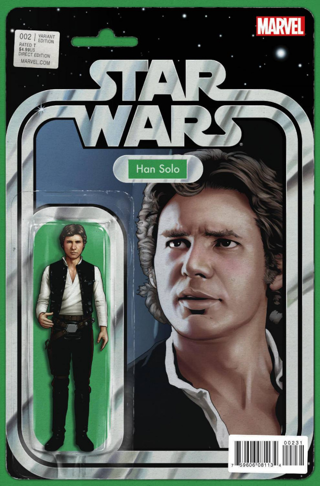 Star Wars #2 (Action Figure Cover)