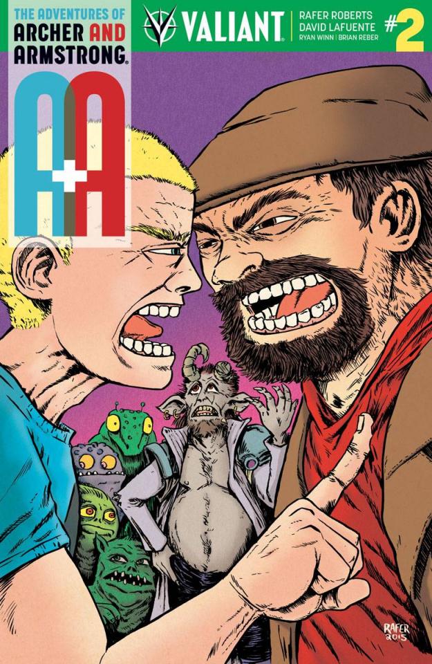 A&A #2 (10 Copy Roberts Cover)