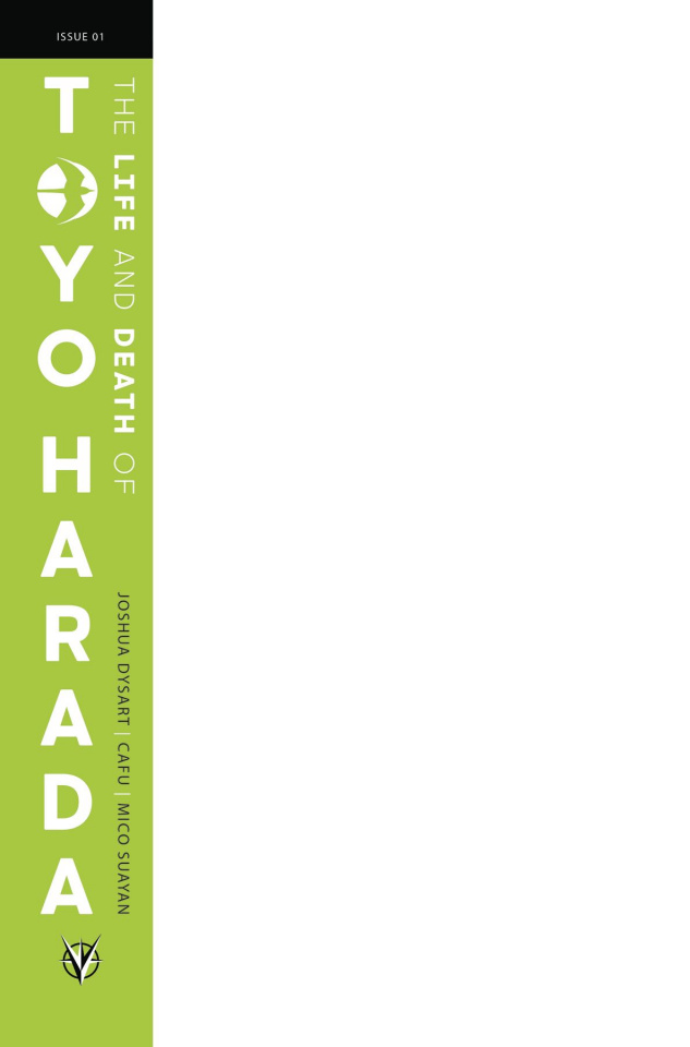 The Life and Death of Toyo Harada #1 (Blank Cover)
