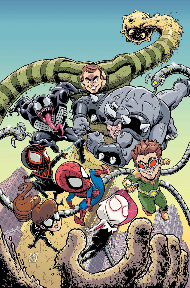Marvel Super Heroes Adventures: Spider-Man - Web of Intrigue #1