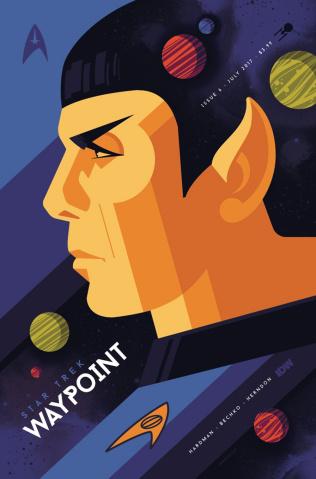 Star Trek: Waypoint #6 (Whalen Cover)