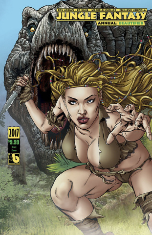Jungle Fantasy Annual 2017 (Beautified Ivory Cover)