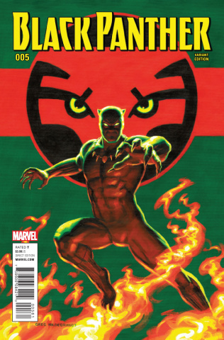 Black Panther #5 (Hildebrandt Classic Artist Cover)