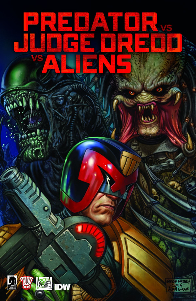 Predator vs. Judge Dredd vs. Aliens #4