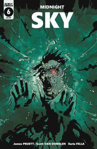 Midnight Sky #6 (Van Domelen Body Snatchers Homage Cover)