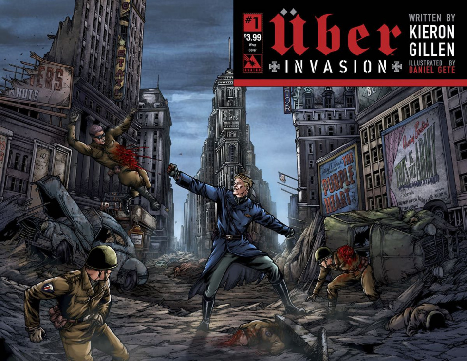 Über: Invasion #1 (Wrap Cover)