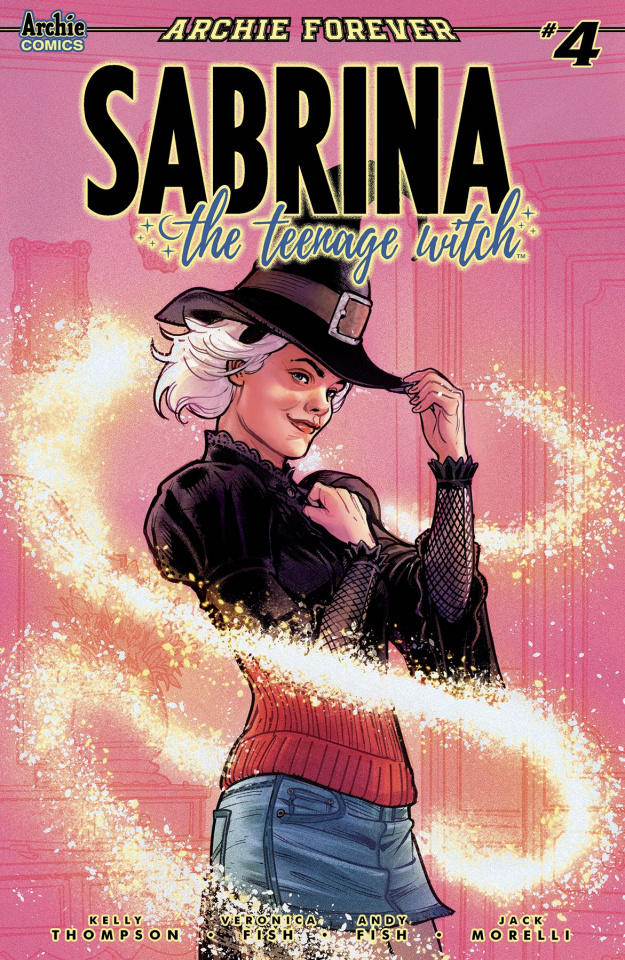 Sabrina, The Teenage Witch #4 (Ibanez Cover)