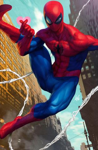 Friendly Neighborhood Spider-Man #1 (Artgerm Cover)