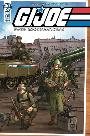G.I. Joe: A Real American Hero #270 (Sullivan Cover)