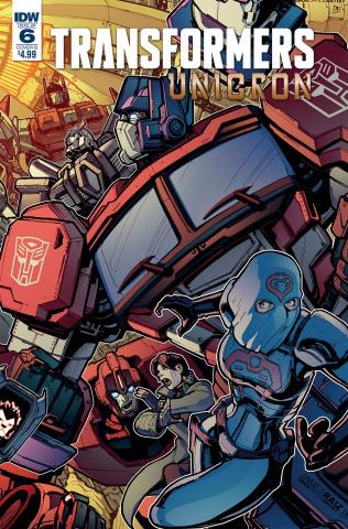 The Transformers: Unicron #6 (Raiz Cover)