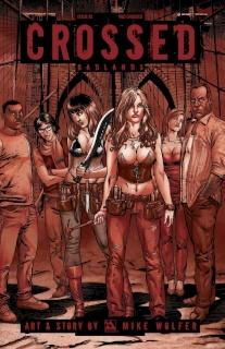 Crossed: Badlands #82 (Red Crossed Cover)