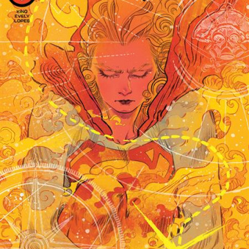 Supergirl: Woman of Tomorrow #4 (Bilquis Evely Cover)