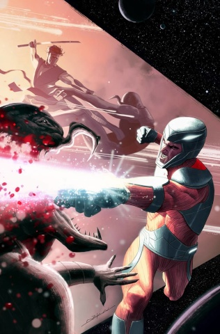 X-O Manowar #45 (20 Copy Dekal Cover)