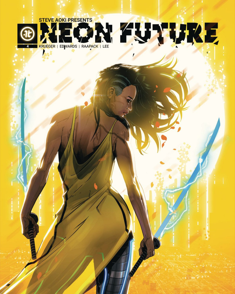 Neon Future #4 (Raapack Cover)