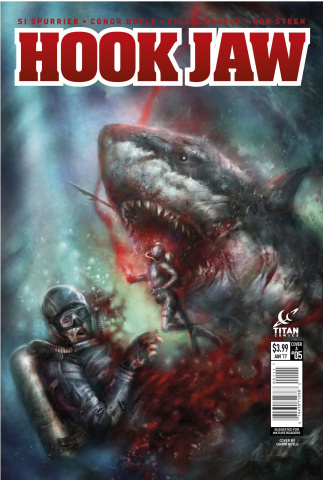 Hookjaw #5 (Percival Cover)