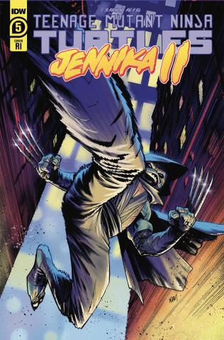 Teenage Mutant Ninja Turtles: Jennika II #5 (10 Copy Adam Gorham Cover)