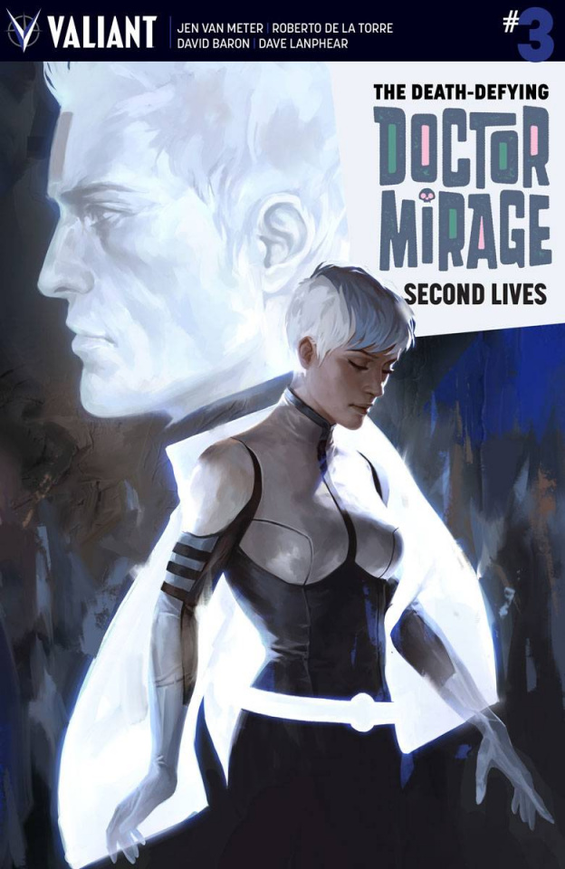 The Death-Defying Doctor Mirage: Second Lives #3 (Djurdjevic Cover)