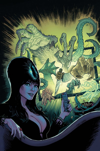 Elvira: Mistress of the Dark #10 (10 Copy Cermak Virgin Cover)