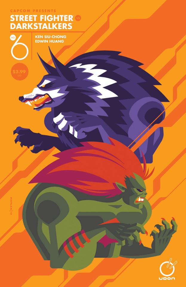 Street Fighter vs. Darkstalkers #6 (Whalen Cover)