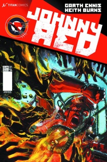 Johnny Red #4 (Burns Cover)