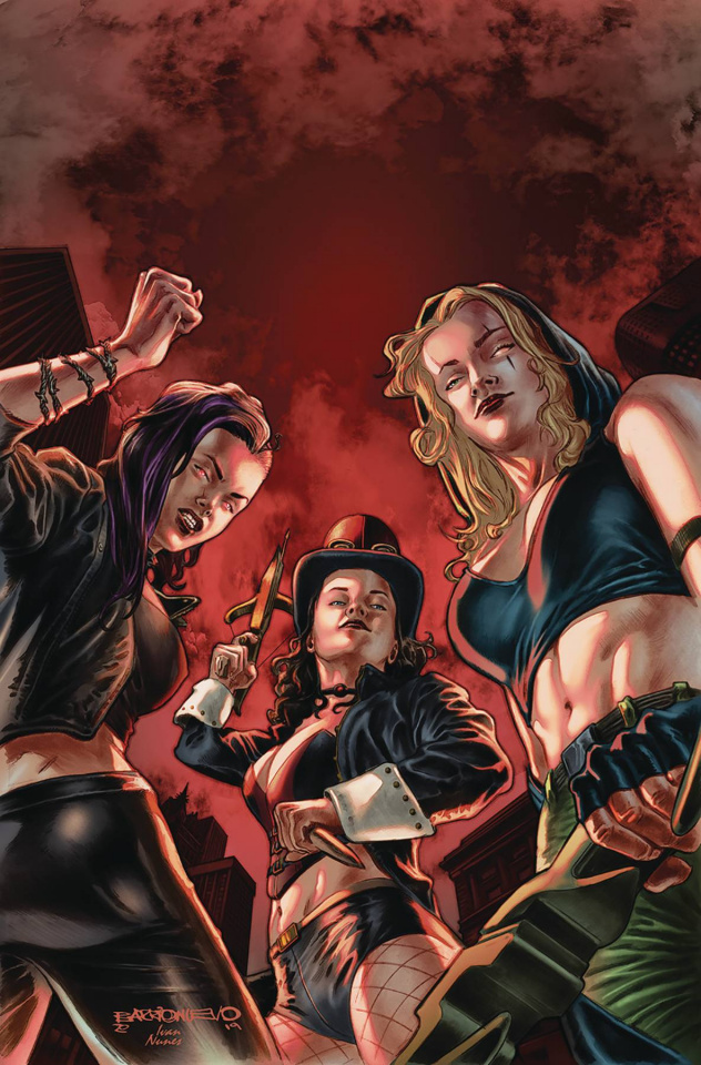 Van Helsing vs. The League of Monsters #3 (Barrionuevo Cover)