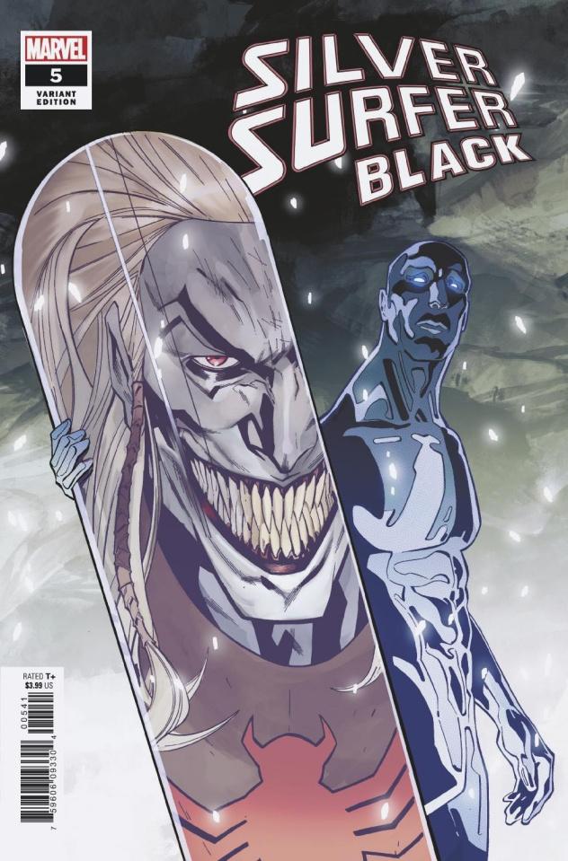 Silver Surfer: Black #5 (Tormey Cover)